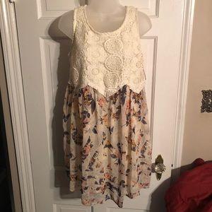 NWT Lace Shift Dress